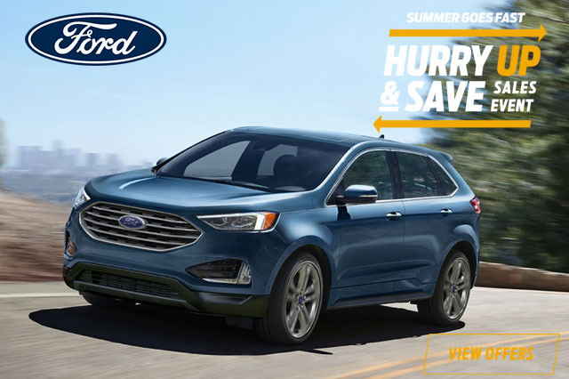 2019 Ford Edge SEL FWD STOCK #9486843